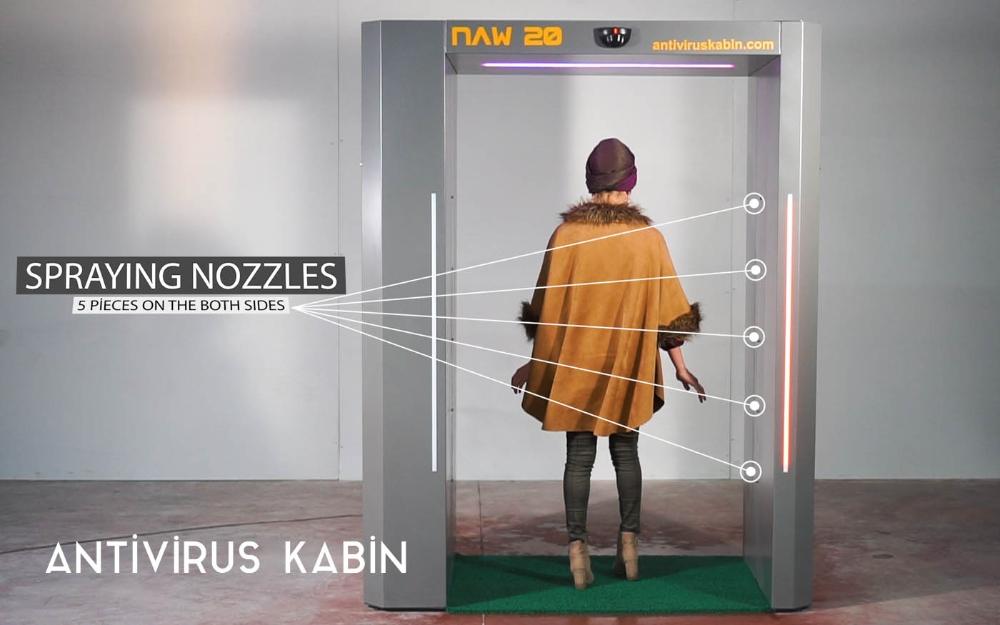 NAW 20 Antivirüs Kabin